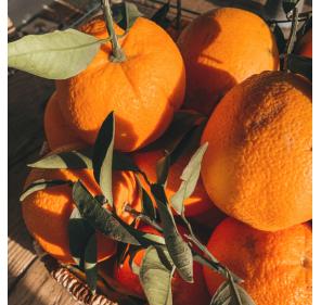 Orange & Cacahuète Caramélisée La Petite Cueillette