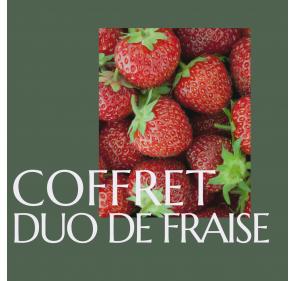 Coffret Duo Fraise -...